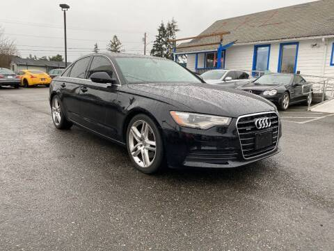 2015 Audi A6 for sale at LKL Motors in Puyallup WA