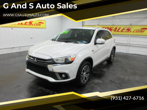 2018 Mitsubishi Outlander Sport for sale at G and S Auto Sales in Ardmore TN
