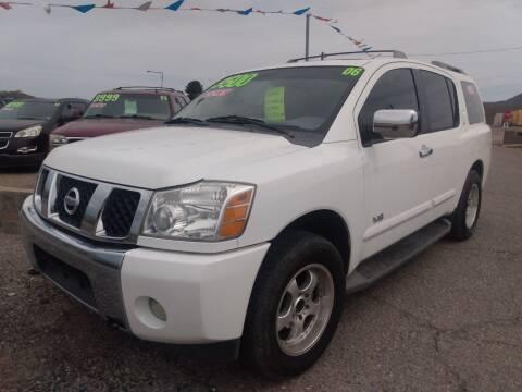 2006 Nissan Armada for sale at Hilltop Motors in Globe AZ
