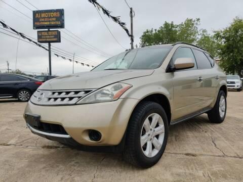 2007 Nissan Murano for sale at AI MOTORS LLC in Killeen TX