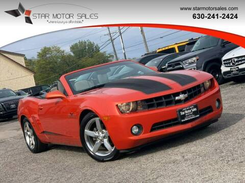 2012 Chevrolet Camaro for sale at Star Motor Sales in Downers Grove IL