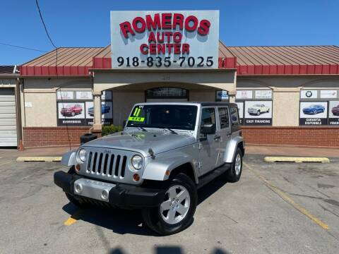 2011 Jeep Wrangler Unlimited for sale at Romeros Auto Center in Tulsa OK