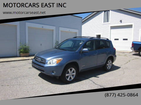 2007 Toyota RAV4 for sale at MOTORCARS EAST INC in Derry NH