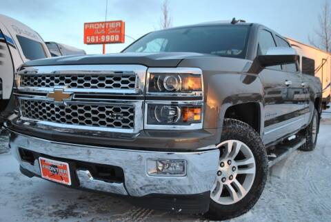 2014 Chevrolet Silverado 1500 for sale at Frontier Auto & RV Sales in Anchorage AK