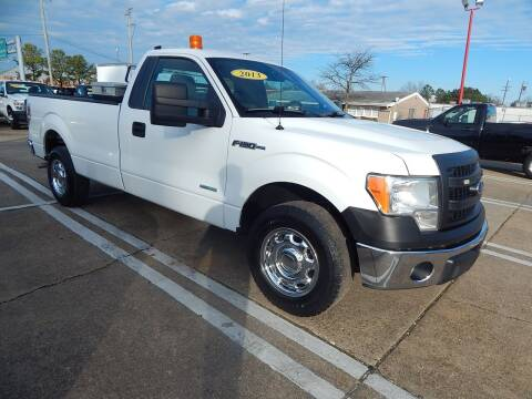 2013 Ford F-150 for sale at Vail Automotive in Norfolk VA