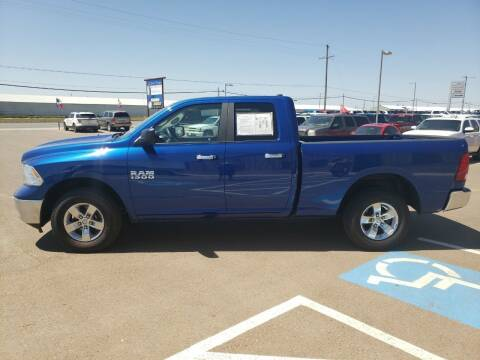 2017 RAM Ram Pickup 1500 for sale at South Plains Autoplex by RANDY BUCHANAN in Lubbock TX