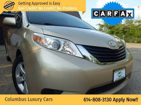 2013 Toyota Sienna for sale at Columbus Luxury Cars in Columbus OH