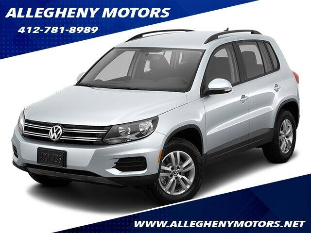 2015 Volkswagen Tiguan for sale at Allegheny Motors in Pittsburgh PA