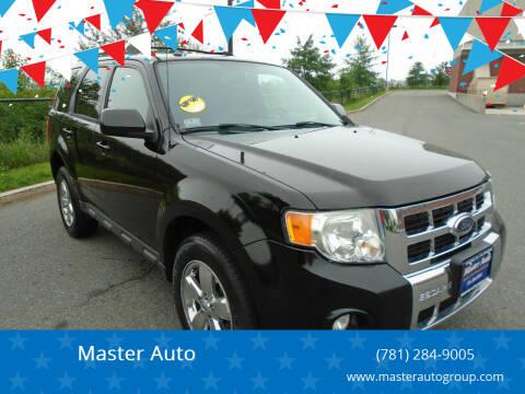 2009 Ford Escape for sale at Master Auto in Revere MA
