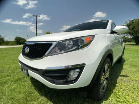 2014 Kia Sportage for sale at Carz Of Texas Auto Sales in San Antonio TX