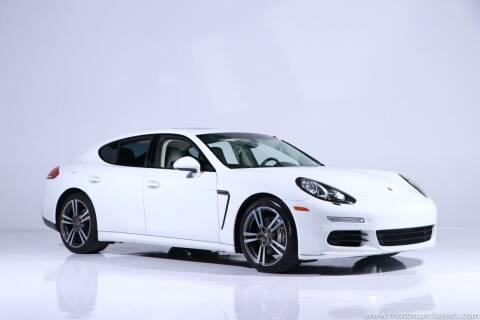 2014 Porsche Panamera for sale at Motorcar Classics in Farmingdale NY