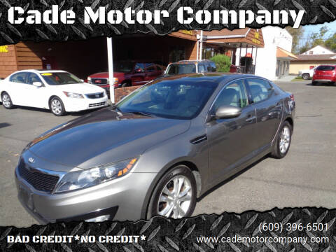 2013 Kia Optima for sale at Cade Motor Company in Lawrenceville NJ