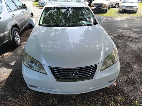 2007 Lexus ES 350 for sale at Wally's Cars ,LLC. in Morehead City NC