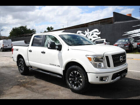 2019 Nissan Titan for sale at ELITE MOTOR CARS OF MIAMI in Miami FL