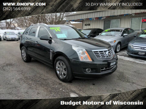2014 Cadillac SRX for sale at Budget Motors of Wisconsin in Racine WI