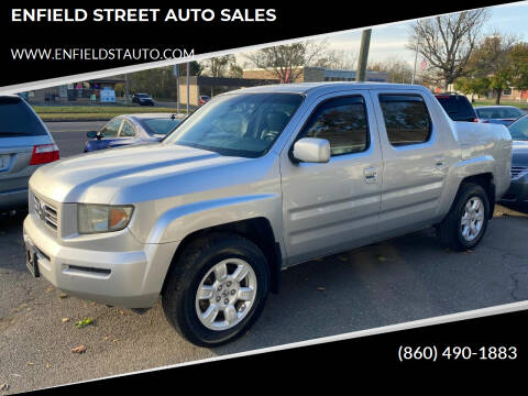 2007 Honda Ridgeline for sale at ENFIELD STREET AUTO SALES in Enfield CT
