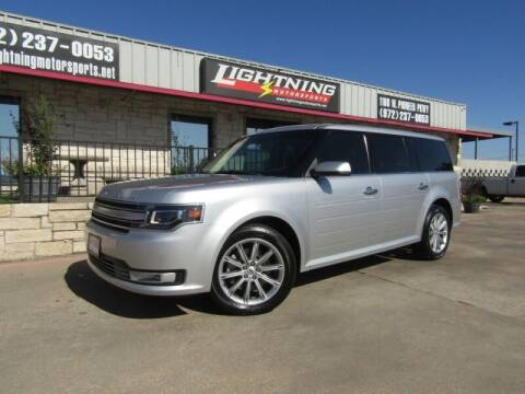 2016 Ford Flex for sale at Lightning Motorsports in Grand Prairie TX