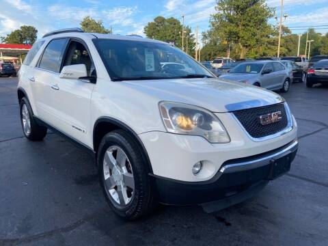 2007 GMC Acadia for sale at JV Motors NC 2 in Raleigh NC