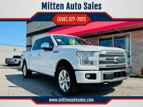 2015 Ford F-150 for sale at Mitten Auto Sales in Holland MI
