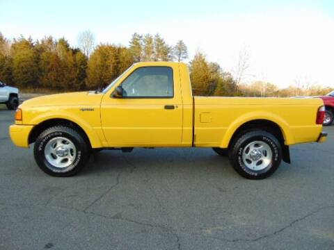 2002 Ford Ranger for sale at E & M AUTO SALES in Locust Grove VA