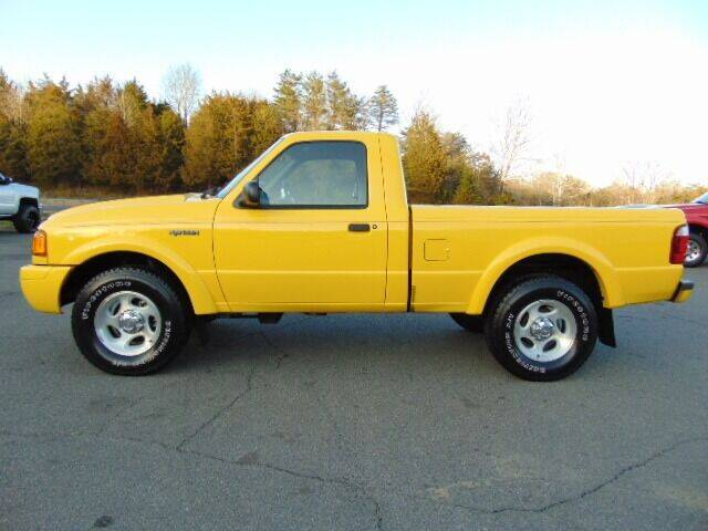 2002 Ford Ranger for sale at E & M AUTO SALES in Locust Grove VA