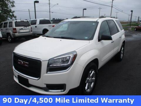 2014 GMC Acadia for sale at FINAL DRIVE AUTO SALES INC in Shippensburg PA