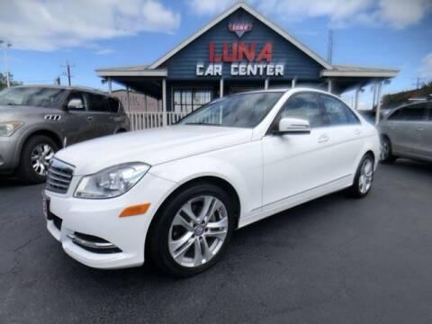 2014 Mercedes-Benz C-Class for sale at LUNA CAR CENTER in San Antonio TX
