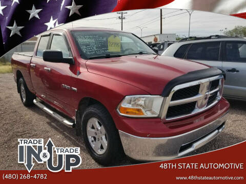 2010 Dodge Ram Pickup 1500 for sale at 48TH STATE AUTOMOTIVE in Mesa AZ