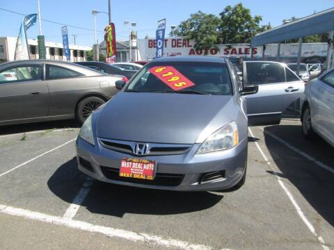 2007 Honda Accord for sale at Best Deal Auto Sales in Stockton CA