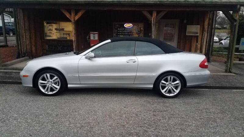 2006 Mercedes-Benz CLK for sale at Hobson Performance Cars in East Bend NC