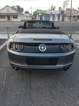 2013 Ford Mustang for sale at Thomas Auto Sales in Manteca CA