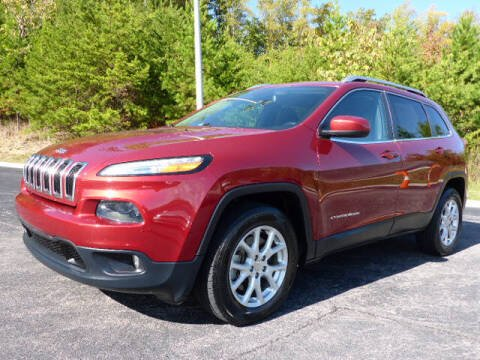 2015 Jeep Cherokee for sale at RUSTY WALLACE KIA OF KNOXVILLE in Knoxville TN