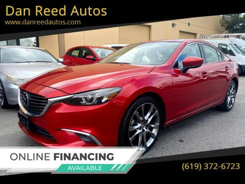 2017 Mazda MAZDA6 for sale at Dan Reed Autos in Escondido CA