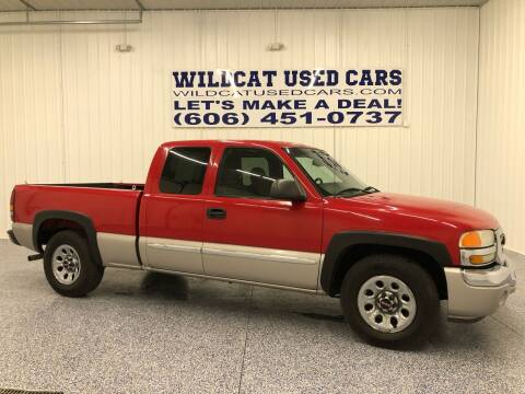 2005 GMC Sierra 1500 for sale at Wildcat Used Cars in Somerset KY