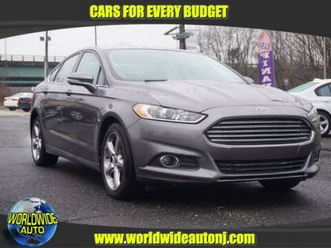2013 Ford Fusion for sale at Worldwide Auto in Hamilton NJ