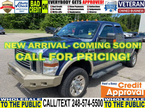 2010 Ford F-250 Super Duty for sale at North Oakland Motors in Waterford MI
