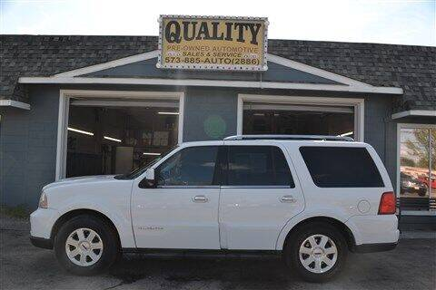 2006 Lincoln Navigator for sale at Quality Pre-Owned Automotive in Cuba MO