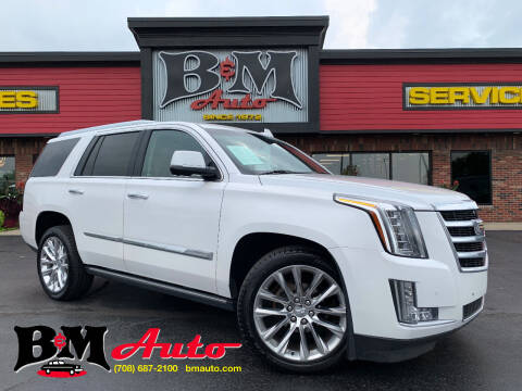 2016 Cadillac Escalade for sale at B & M Auto Sales Inc. in Oak Forest IL