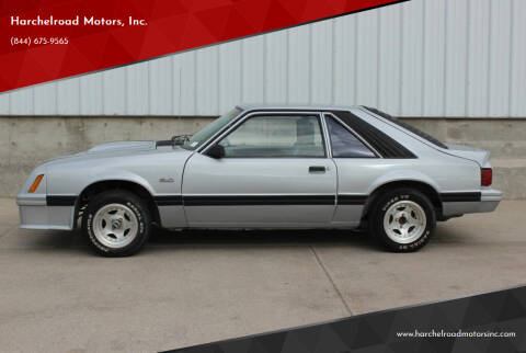 1982 Ford Mustang for sale at Harchelroad Motors, Inc. in Imperial NE