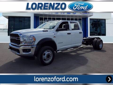 2020 RAM Ram Chassis 5500 for sale at Lorenzo Ford in Homestead FL
