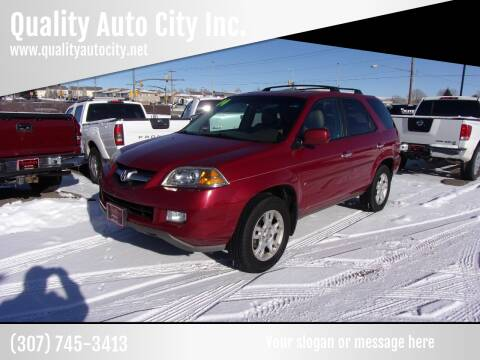 2004 Acura MDX for sale at Quality Auto City Inc. in Laramie WY