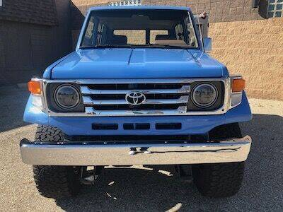 1988 Toyota Land Cruiser for sale at MICHAEL'S AUTO SALES in Mount Clemens MI