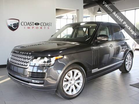 2017 Land Rover Range Rover for sale at Coast to Coast Imports in Fishers IN