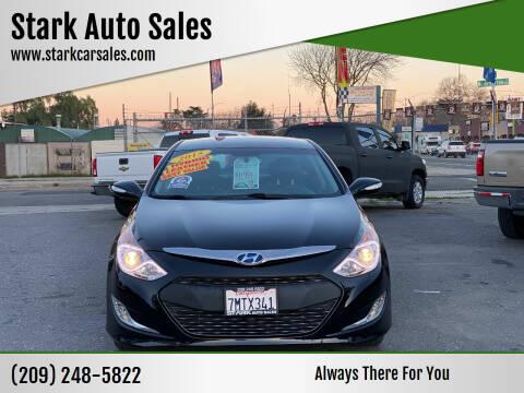 2015 Hyundai Sonata Hybrid for sale at Stark Auto Sales in Modesto CA