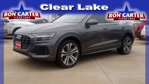 2019 Audi Q8 for sale at Ron Carter  Clear Lake Used Cars in Houston TX
