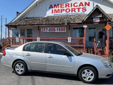 2005 Chevrolet Malibu for sale at American Imports INC in Indianapolis IN