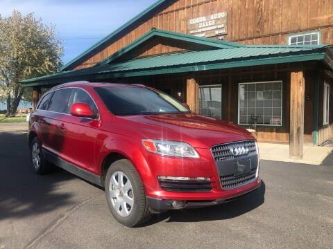 2007 Audi Q7 for sale at Coeur Auto Sales in Hayden ID