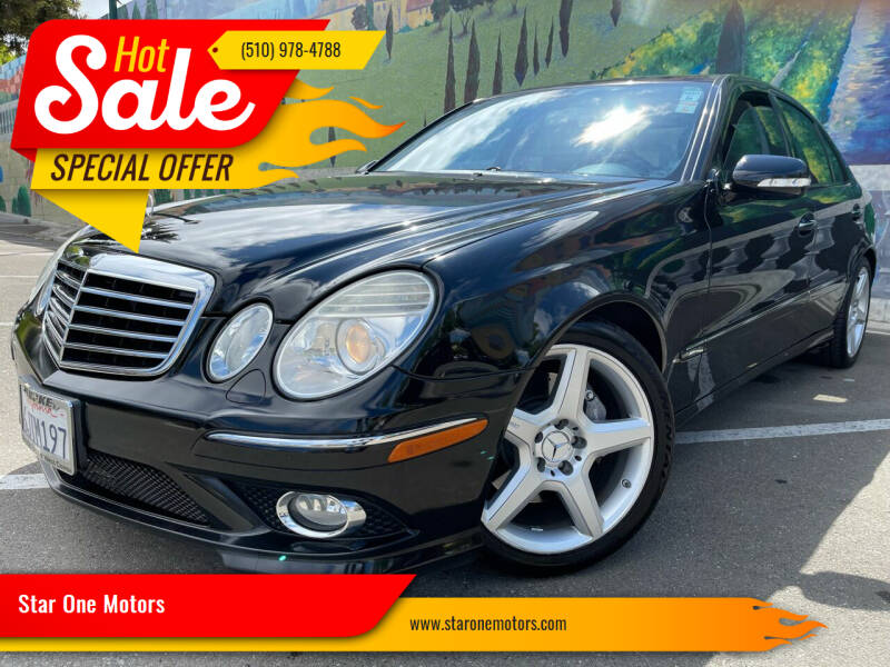 2009 Mercedes-Benz E-Class for sale at Star One Motors in Hayward CA