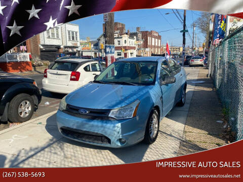 2008 Ford Focus for sale at Impressive Auto Sales in Philadelphia PA