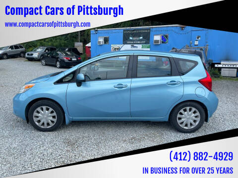 2014 Nissan Versa Note for sale at Compact Cars of Pittsburgh in Pittsburgh PA